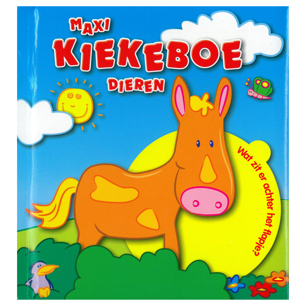 Afbeelding van Boek Maxi Kiekeboe Dieren