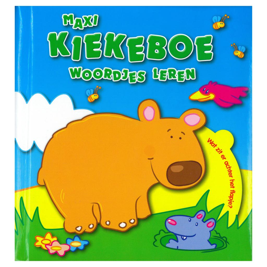 Afbeelding van Boek Maxi Kiekeboe Woordjes Leren