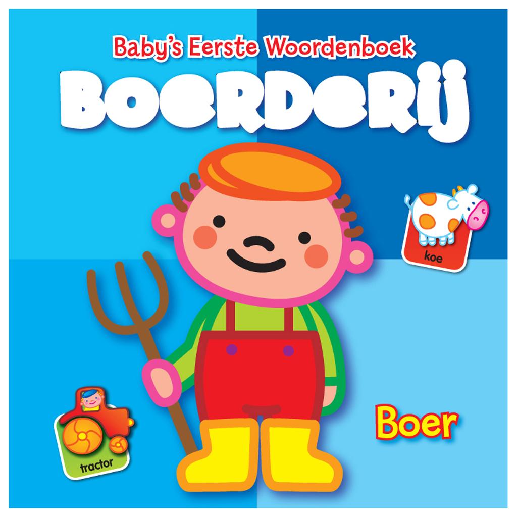 Afbeelding van Boek Baby's Eerste Woordenboek Boerderij