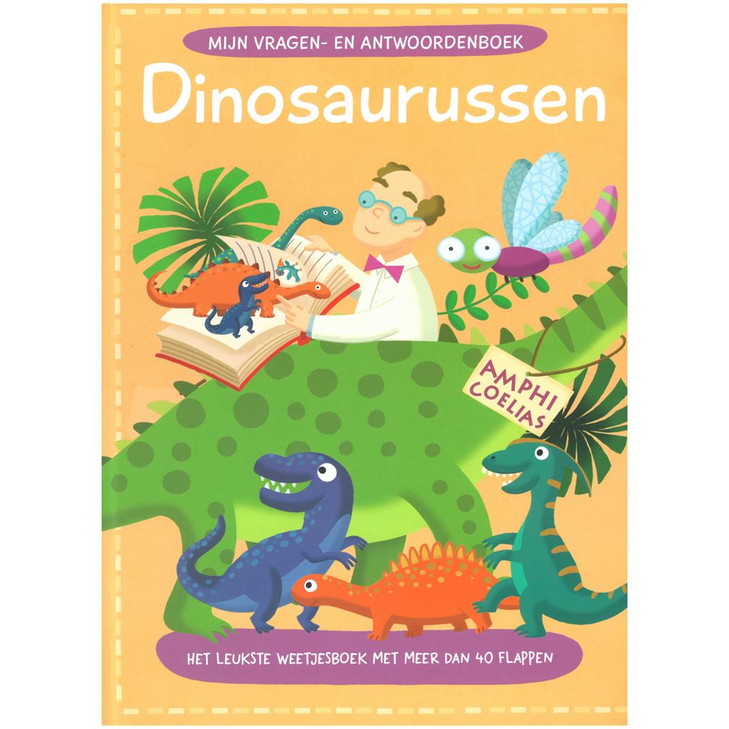 Afbeelding van Boek Vragen & Antwoorden Dinosauriers