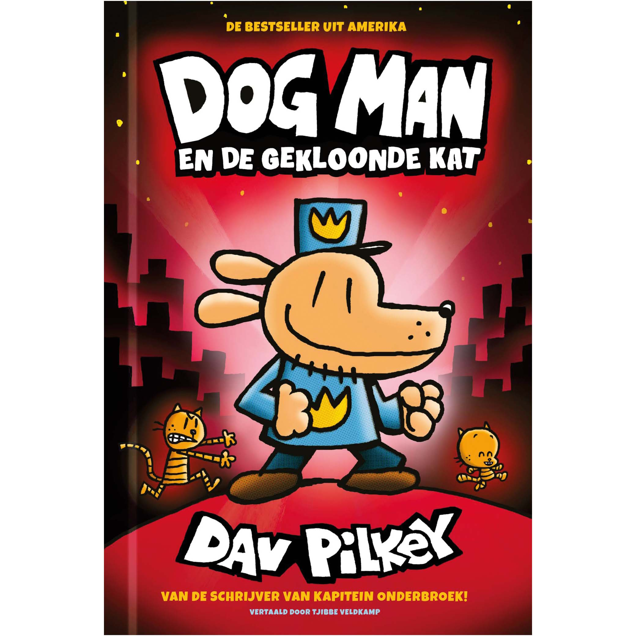 Afbeelding van Boek Dog Man Deel 3 Gekloonde Kat