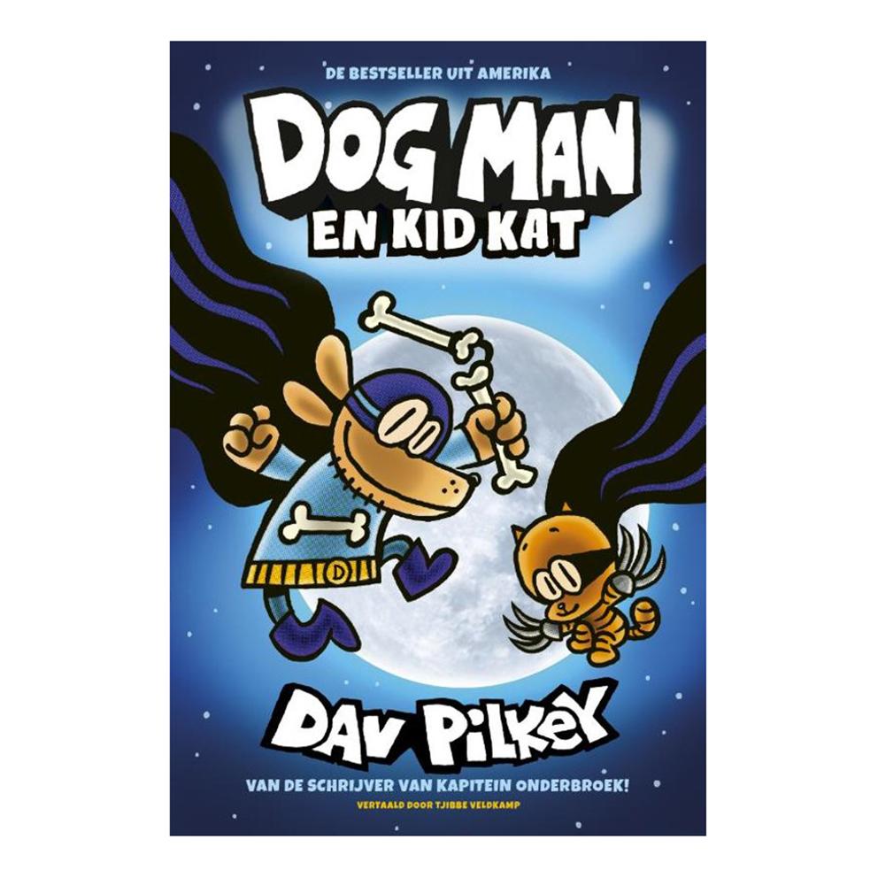 Afbeelding van Boek Dog Man En Kid Kat Deel 4