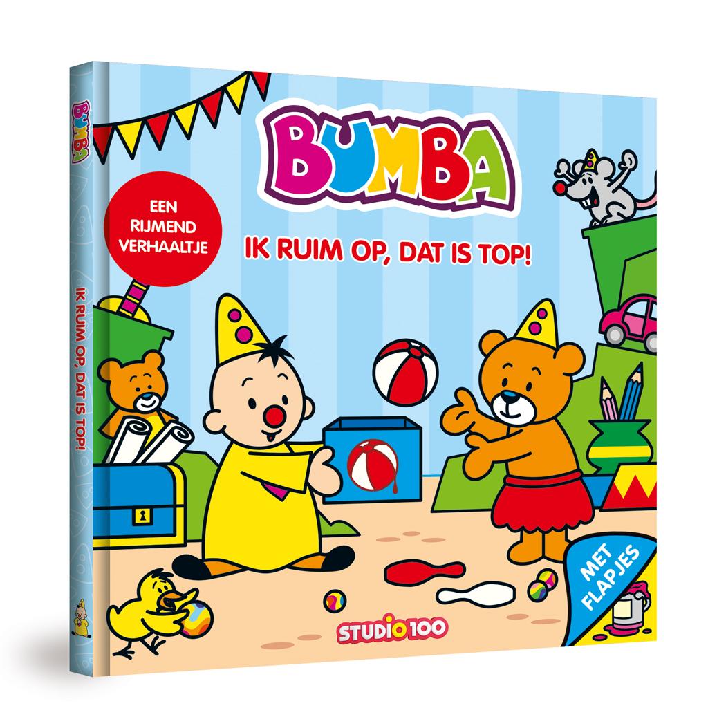 Afbeelding van Flapjesboek Bumba Ik Ruim Op, Dat Is Top!