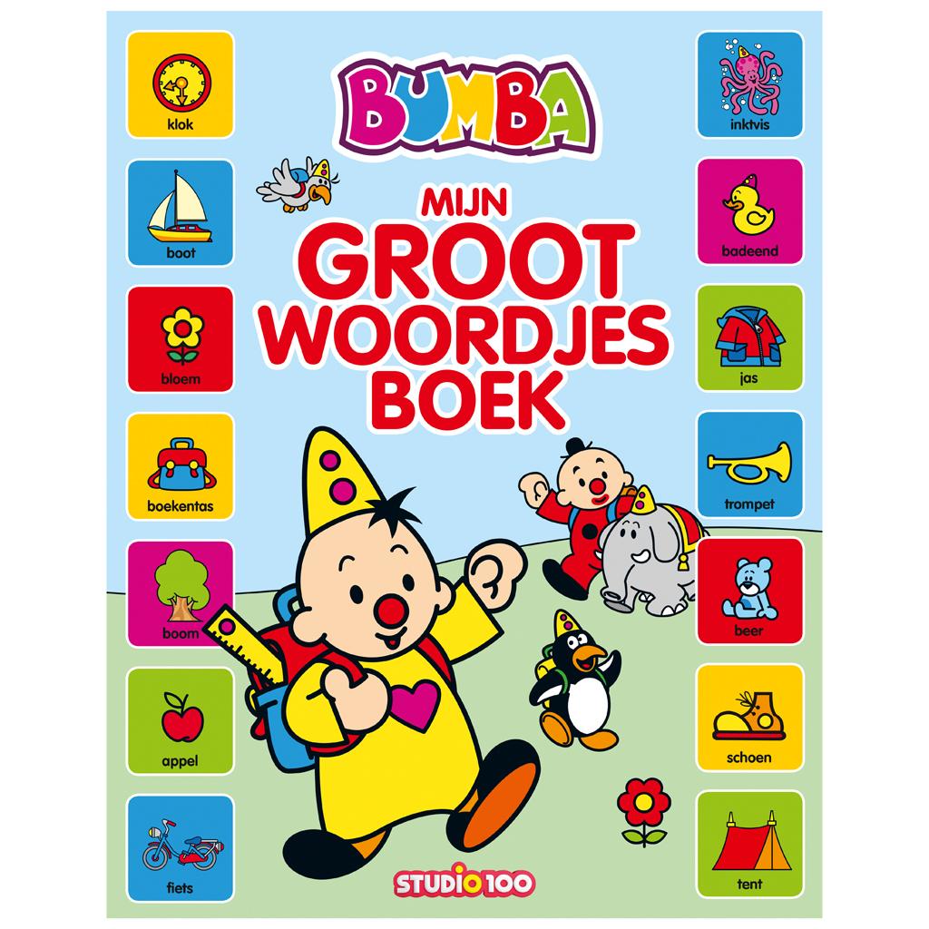 Afbeelding van Bumba Kartonboek Mijn Groot Woordjes Boek