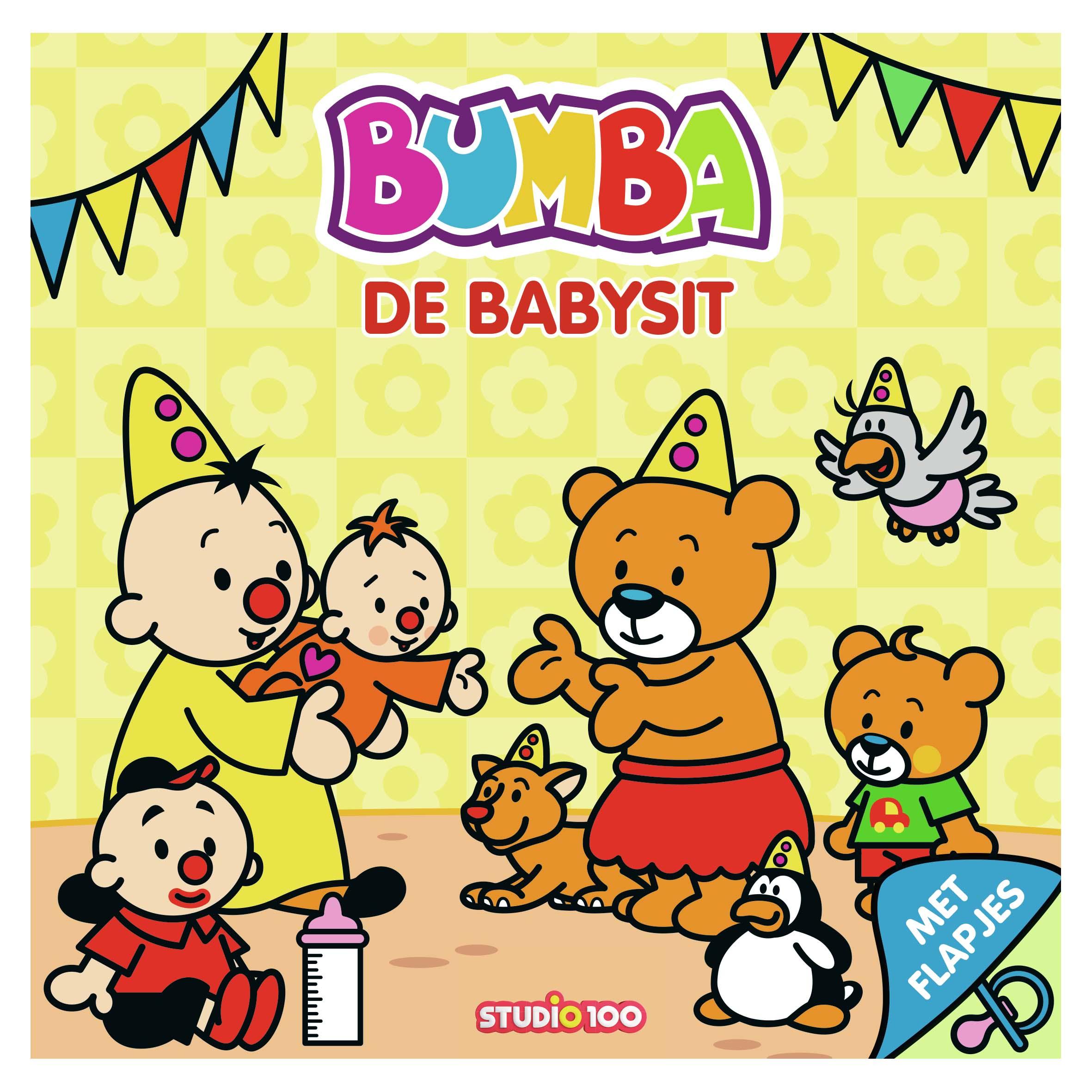 Afbeelding van Bumba Kartonboek Met Flapjes - De Babysit