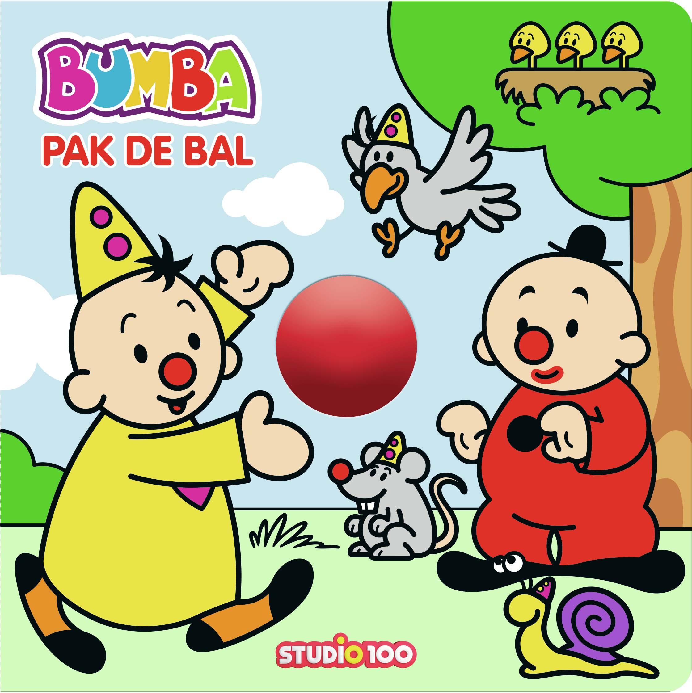 Afbeelding van Bumba Kartonboek Met Rollende Bal - Pak De Bal!