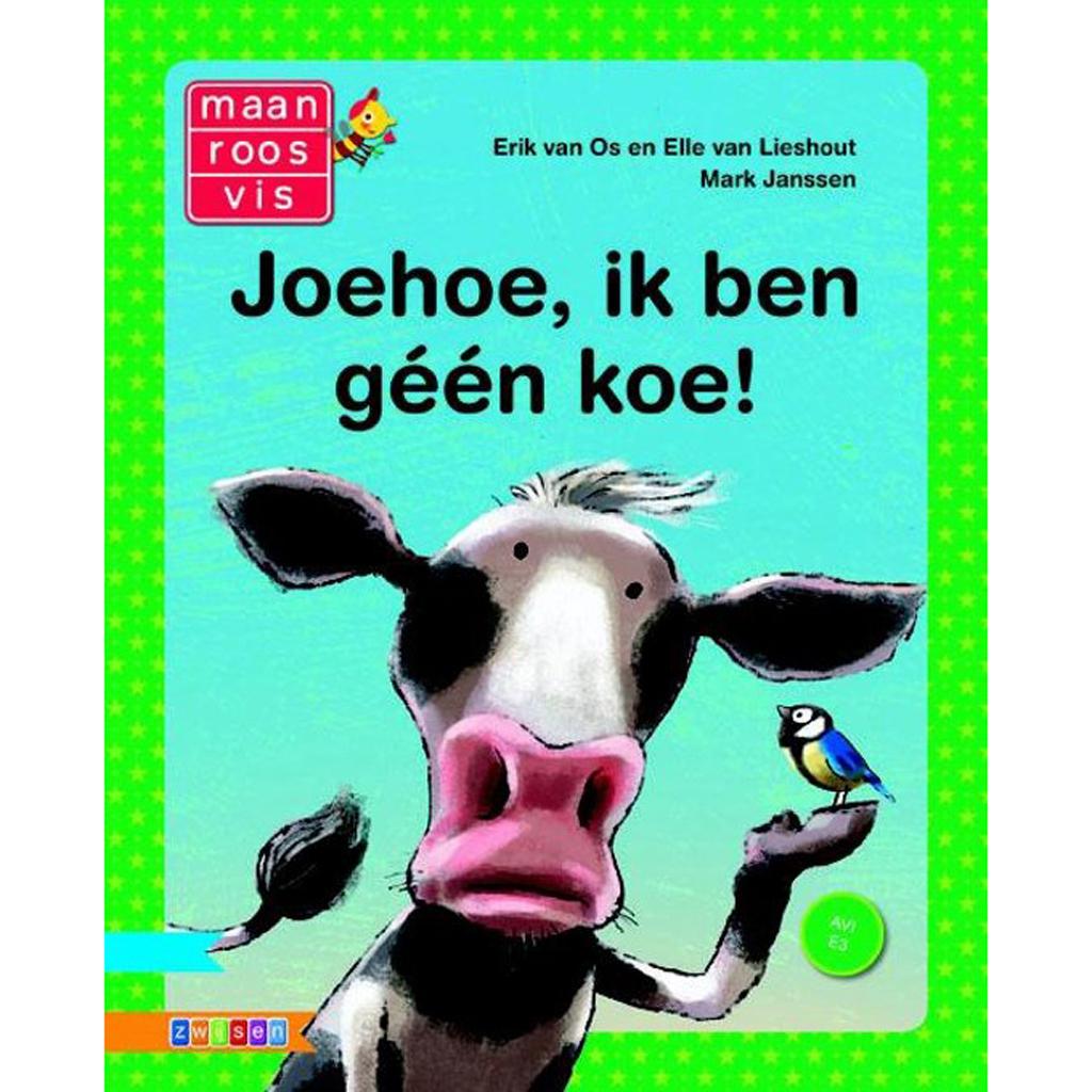 Afbeelding van Boek Maan Roos Vis AVI E3 Joehoe,ik ben géén koe!
