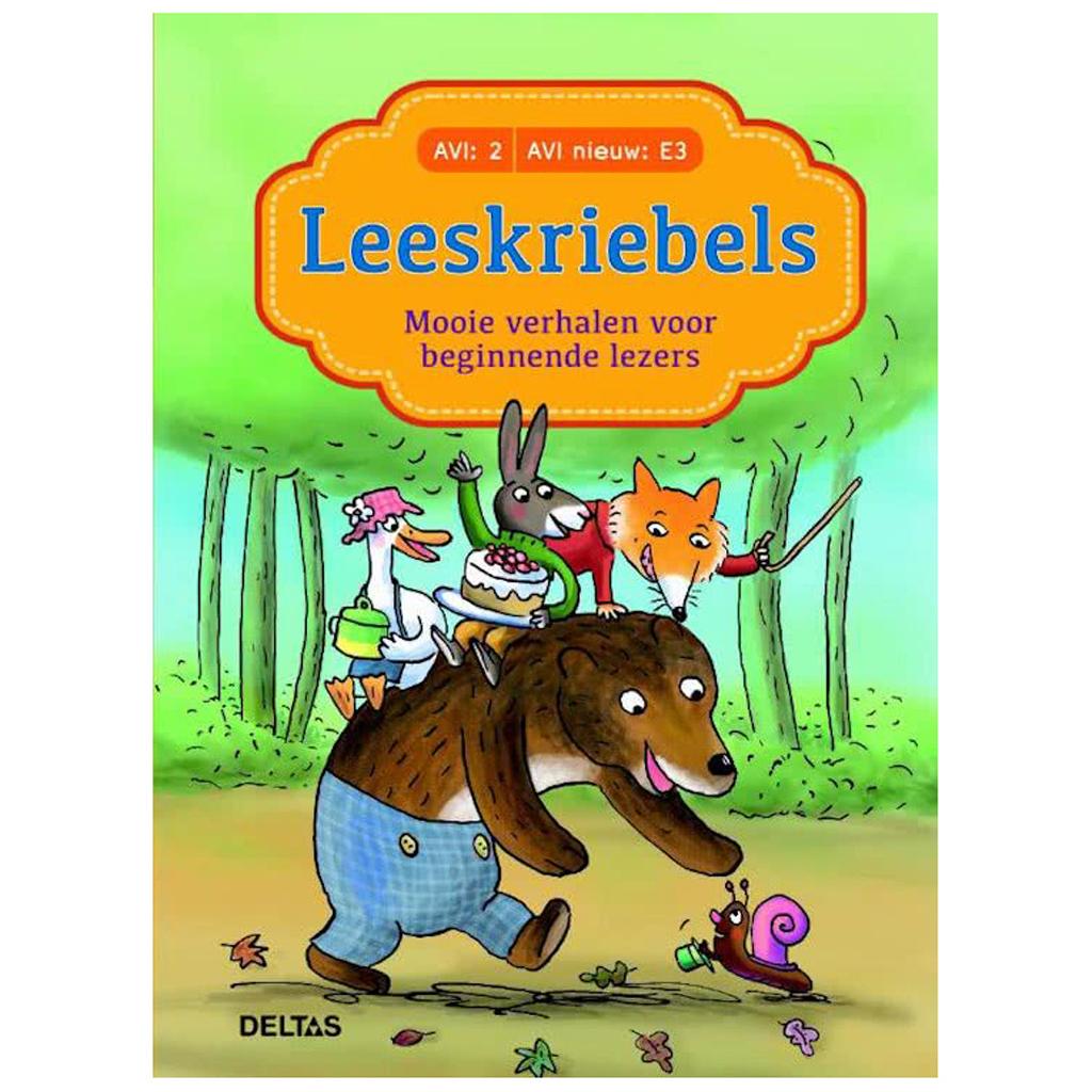 Afbeelding van Boek Leeskriebels AVI E3 Mooie Verhalen voor Beginnende Lezers