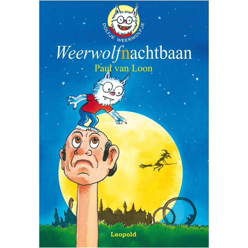 Afbeelding van Boek Dolfje Weerwolfje Weerwolfnachtbaan