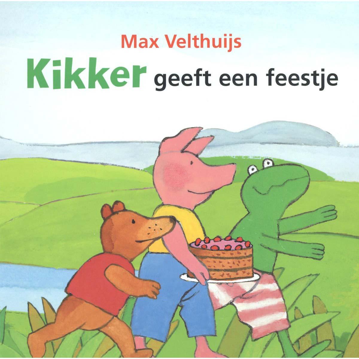 Afbeelding van Boek Kikker Geeft Feestje Kartonboek