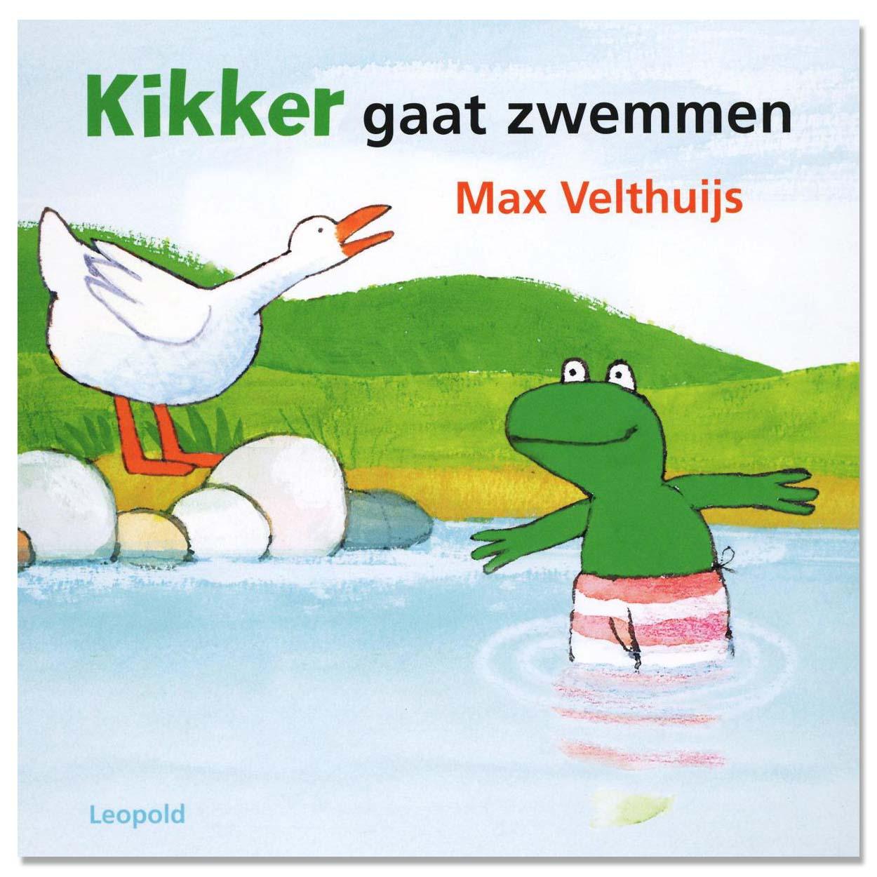 Afbeelding van Boek Kikker Gaat Zwemmen Kartonboek