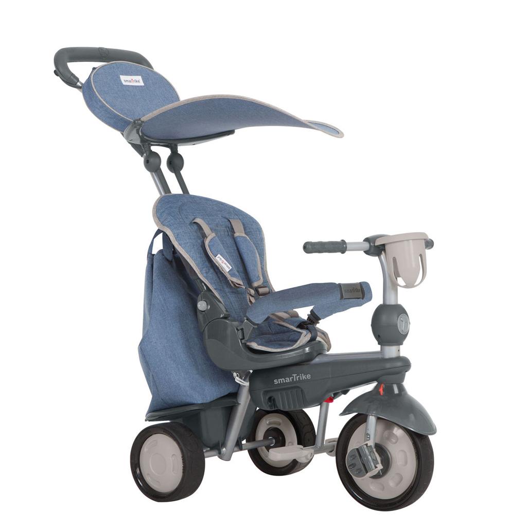 Afbeelding van Driewieler Smart Trike Voyager Blauw