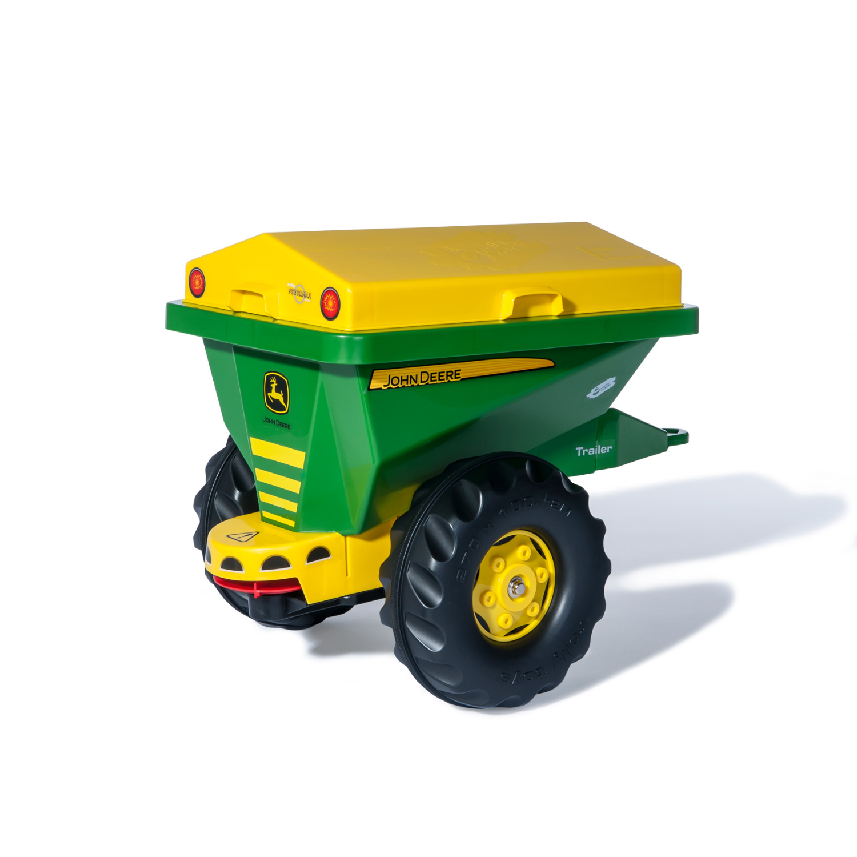 Afbeelding van Aanhanger Rolly Toys John Deere Strooiwagen