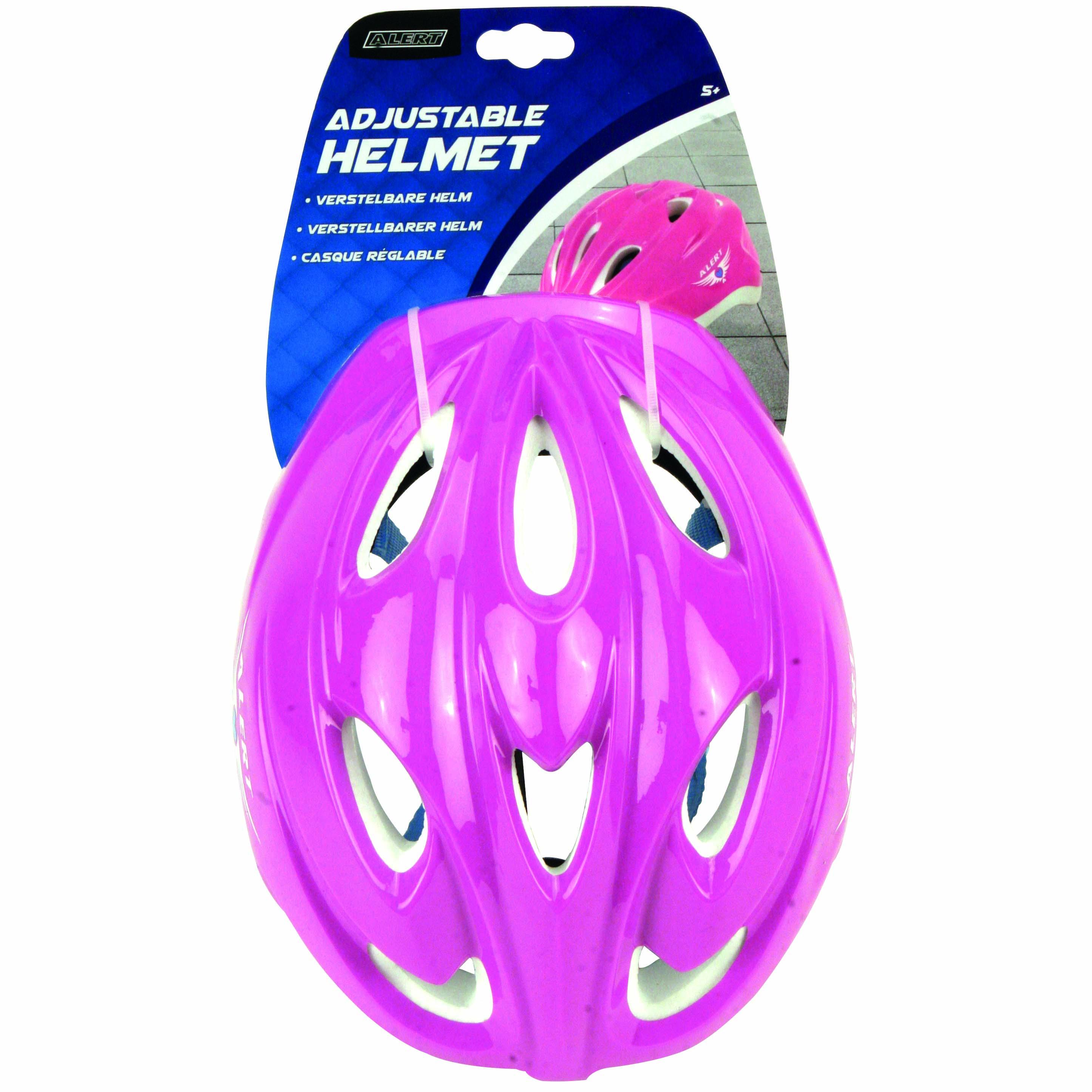 Afbeelding van Helm Verstelbaar Roze Alert