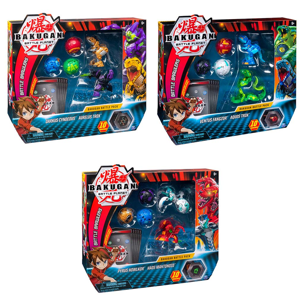 Afbeelding van Bakugan Battle Pack Assorti