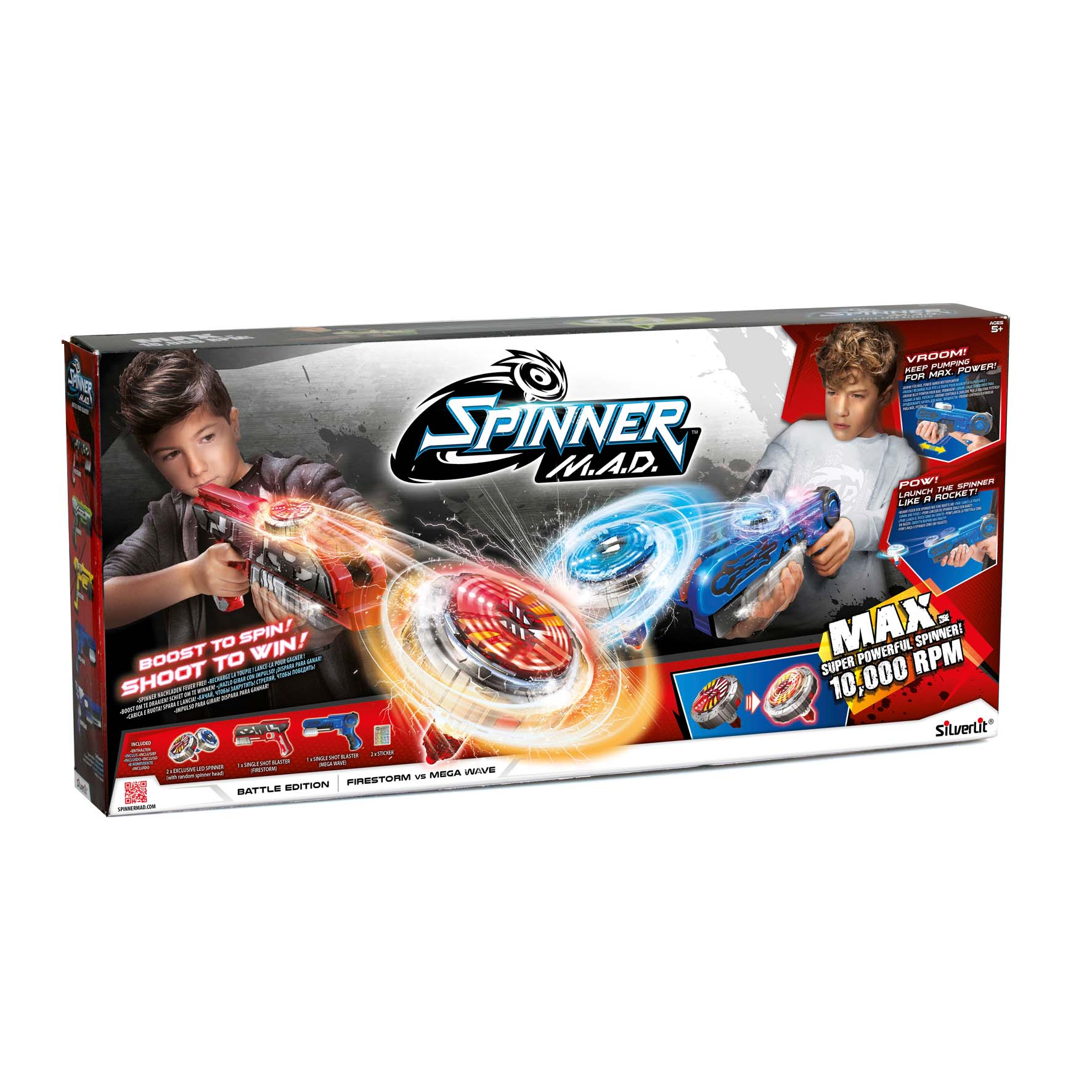 Afbeelding van Spinner MAD Battle Pack