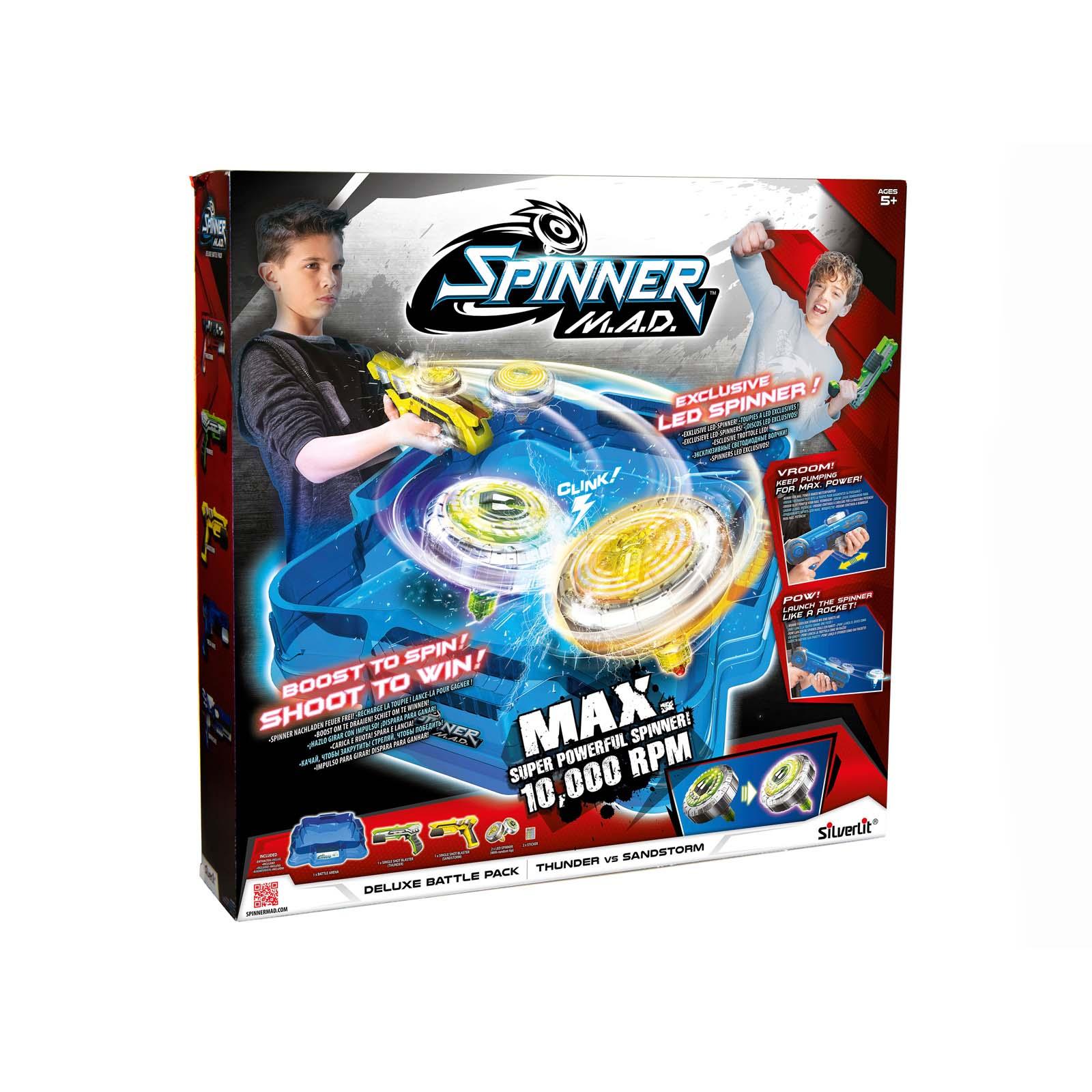 Afbeelding van Spinner MAD Deluxe Battle Pack