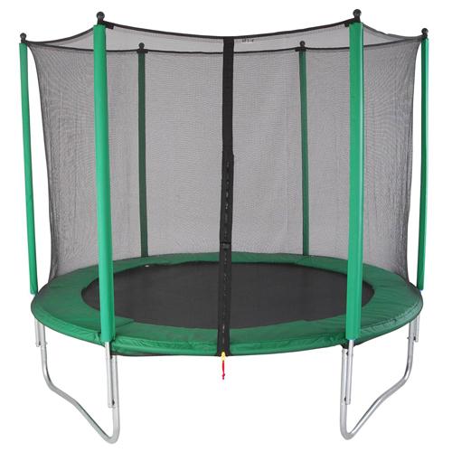 Afbeelding van Trampoline Set Groen 244cm