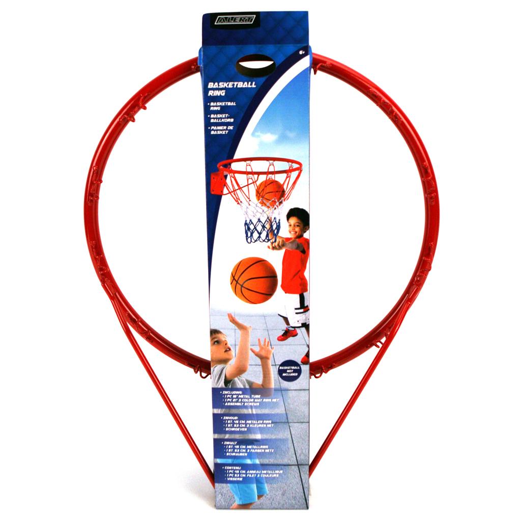 Afbeelding van Basketbal Ring Met Net Alert