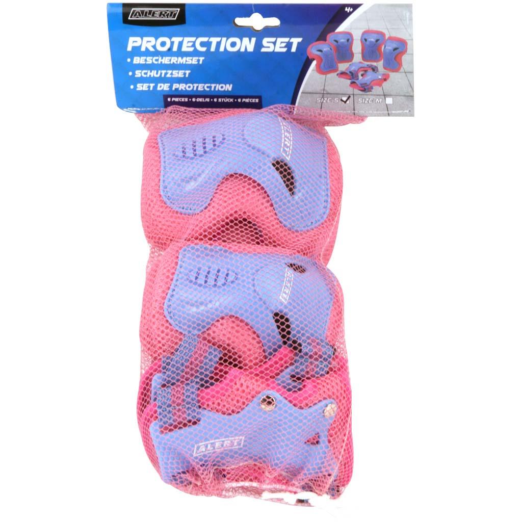 Afbeelding van Beschermset Alert 3-Delig Roze Maat M