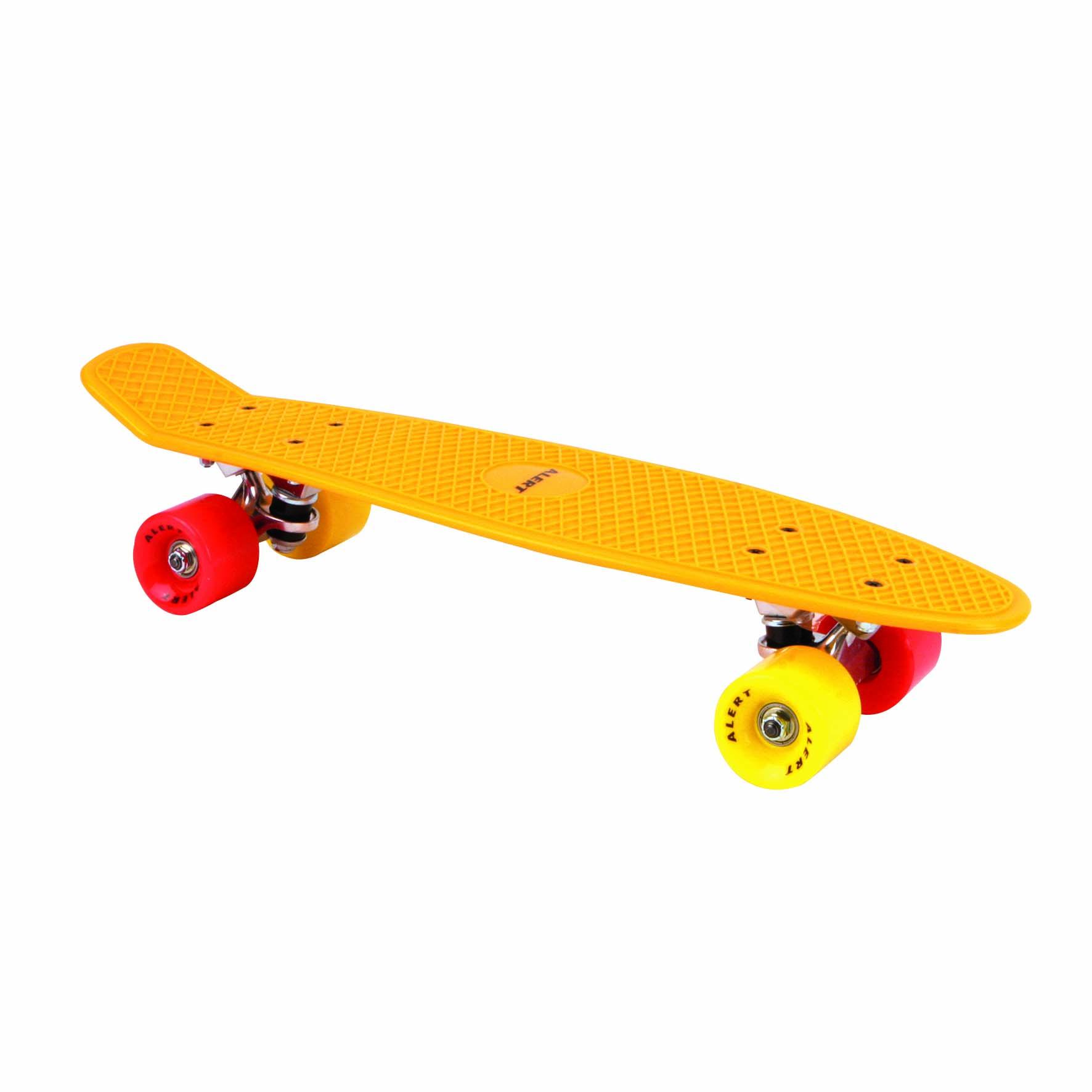 Afbeelding van Skateboard Oranje 55 Cm ABEC 7 Alert