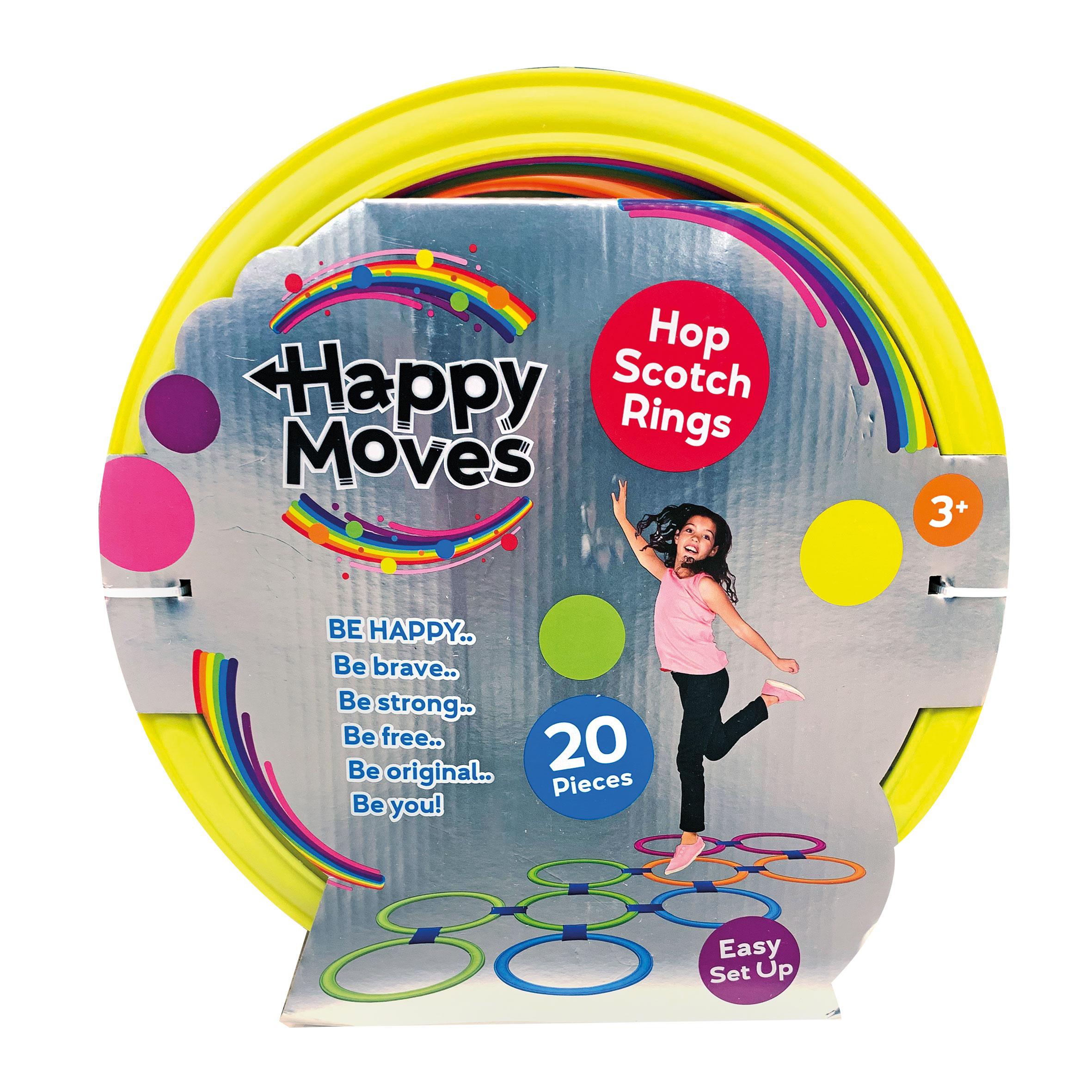 Afbeelding van Hinkelringen Set 10 Stuks Happy Moves