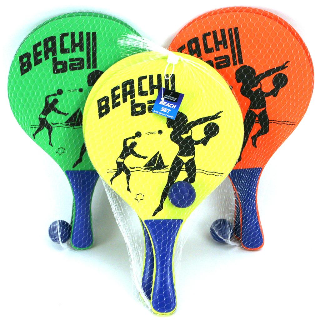 Afbeelding van Beachball Set Hout Alert
