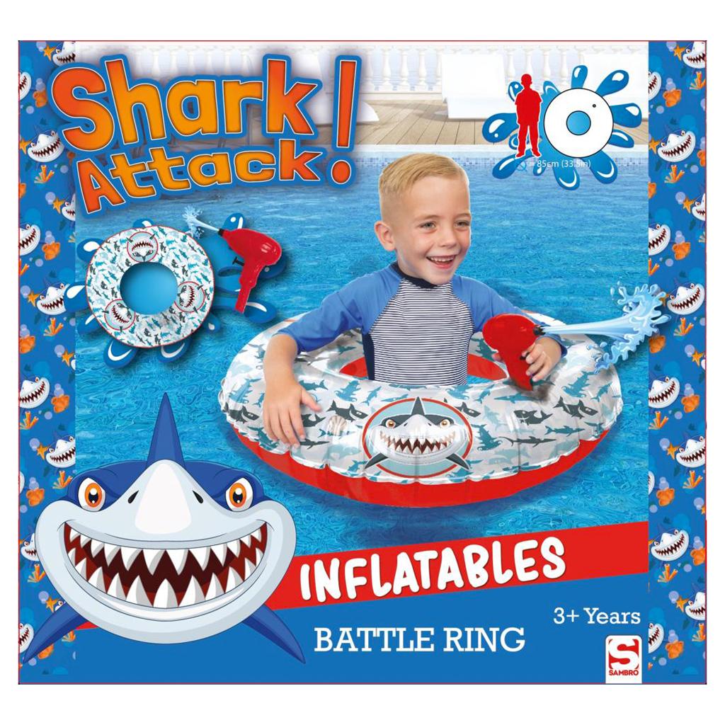 Afbeelding van Battle Ring Zwemring Haai
