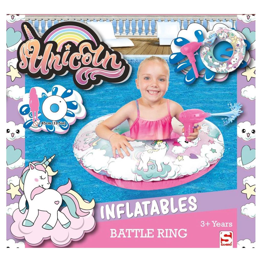 Afbeelding van Battle Ring Zwemring Eenhoorn