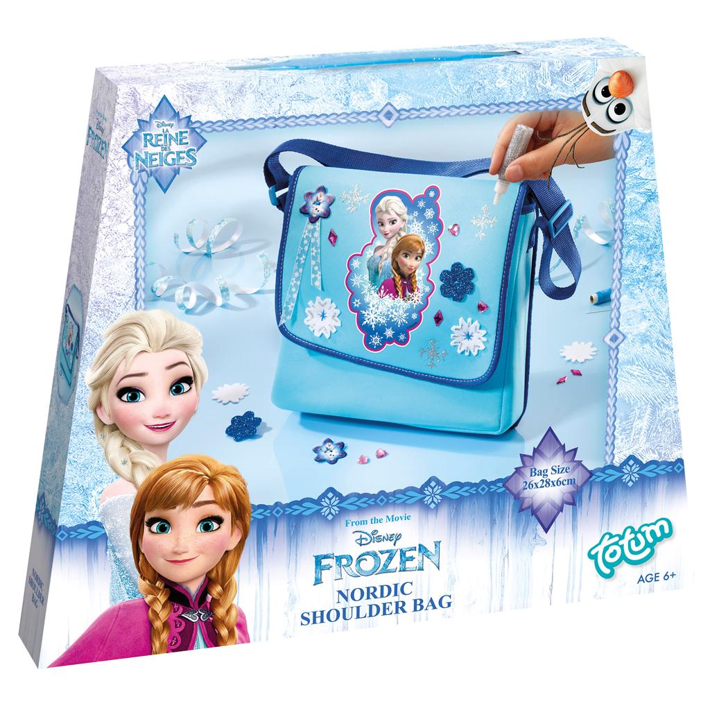 Afbeelding van Hobbyset Totum Disney Frozen Schoudertas Versieren