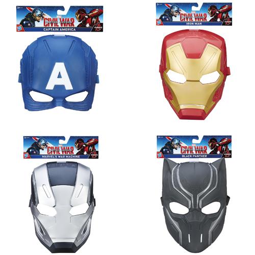 Afbeelding van Captain America Hero Masker Assortiment