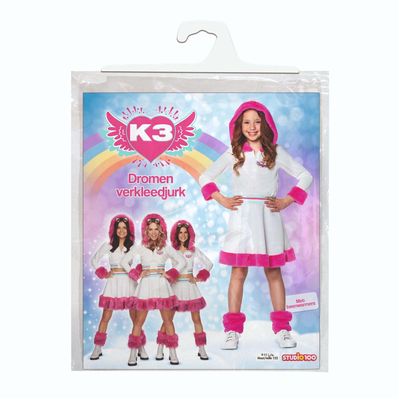 Afbeelding van K3 Verkleedjurk Dromen 9-11 Jaar