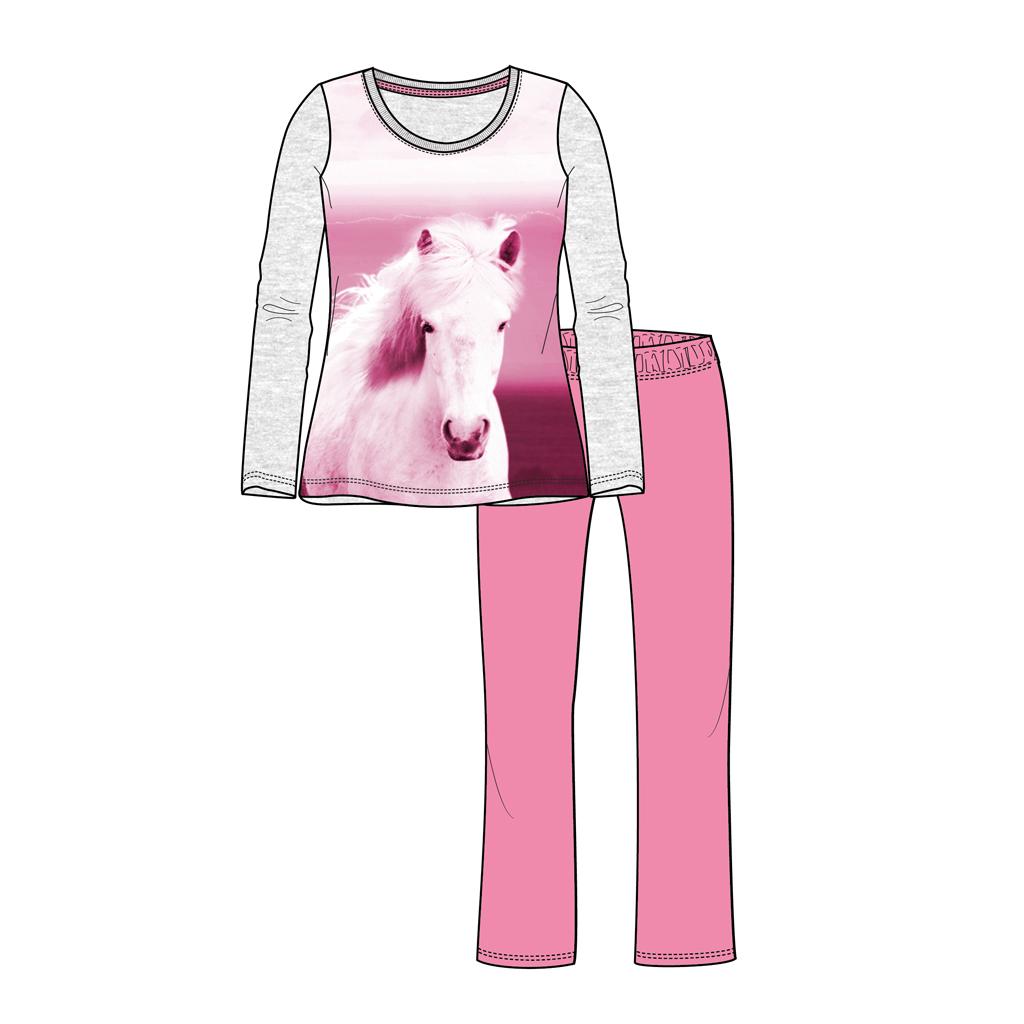 Afbeelding van Pyjama Paard Maat 110/116