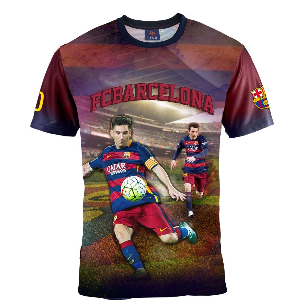 Afbeelding van Barcelona T-Shirt Messi Leeftijd 12 Jaar