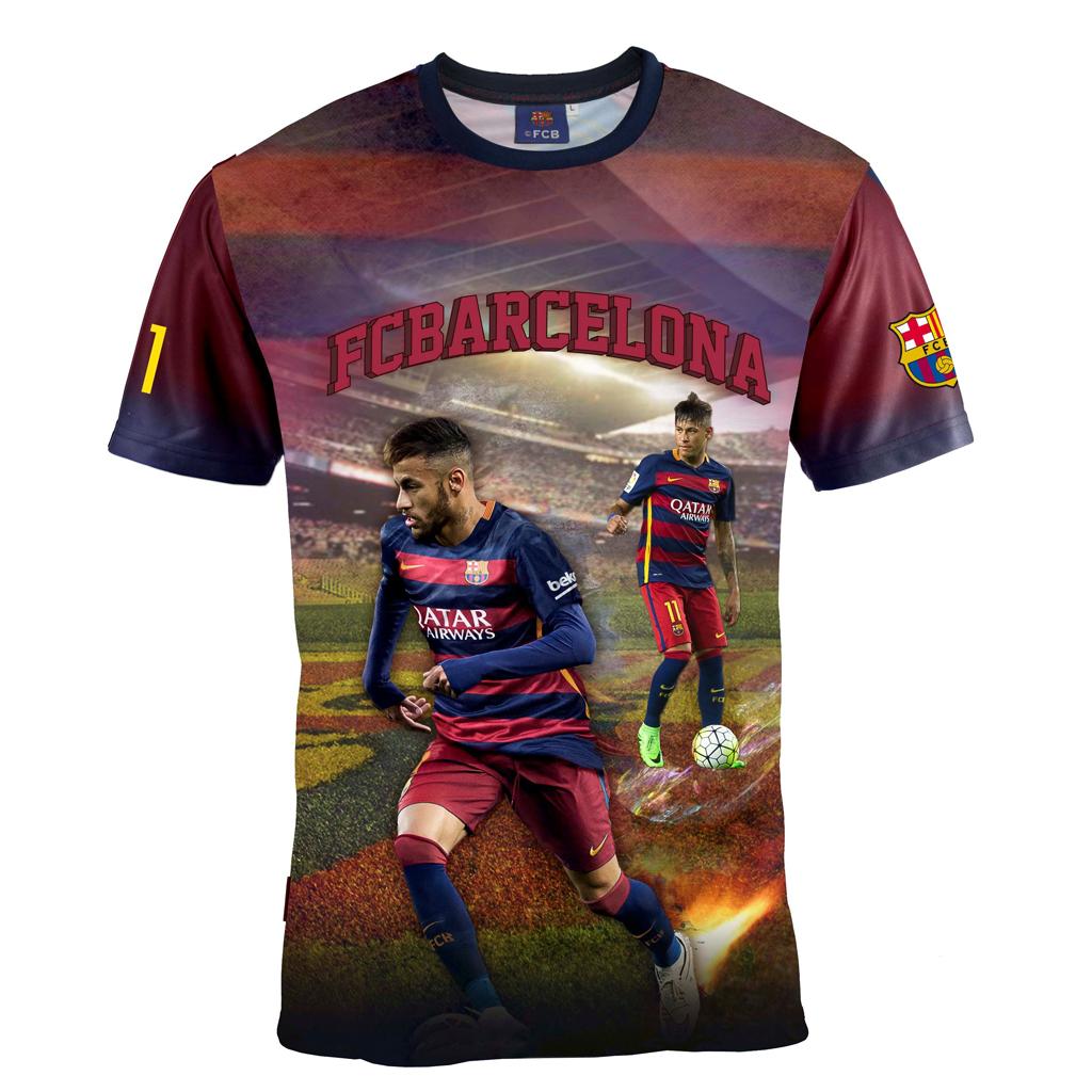 Afbeelding van Barcelona T-Shirt Neymar Leeftijd 8 Jaar