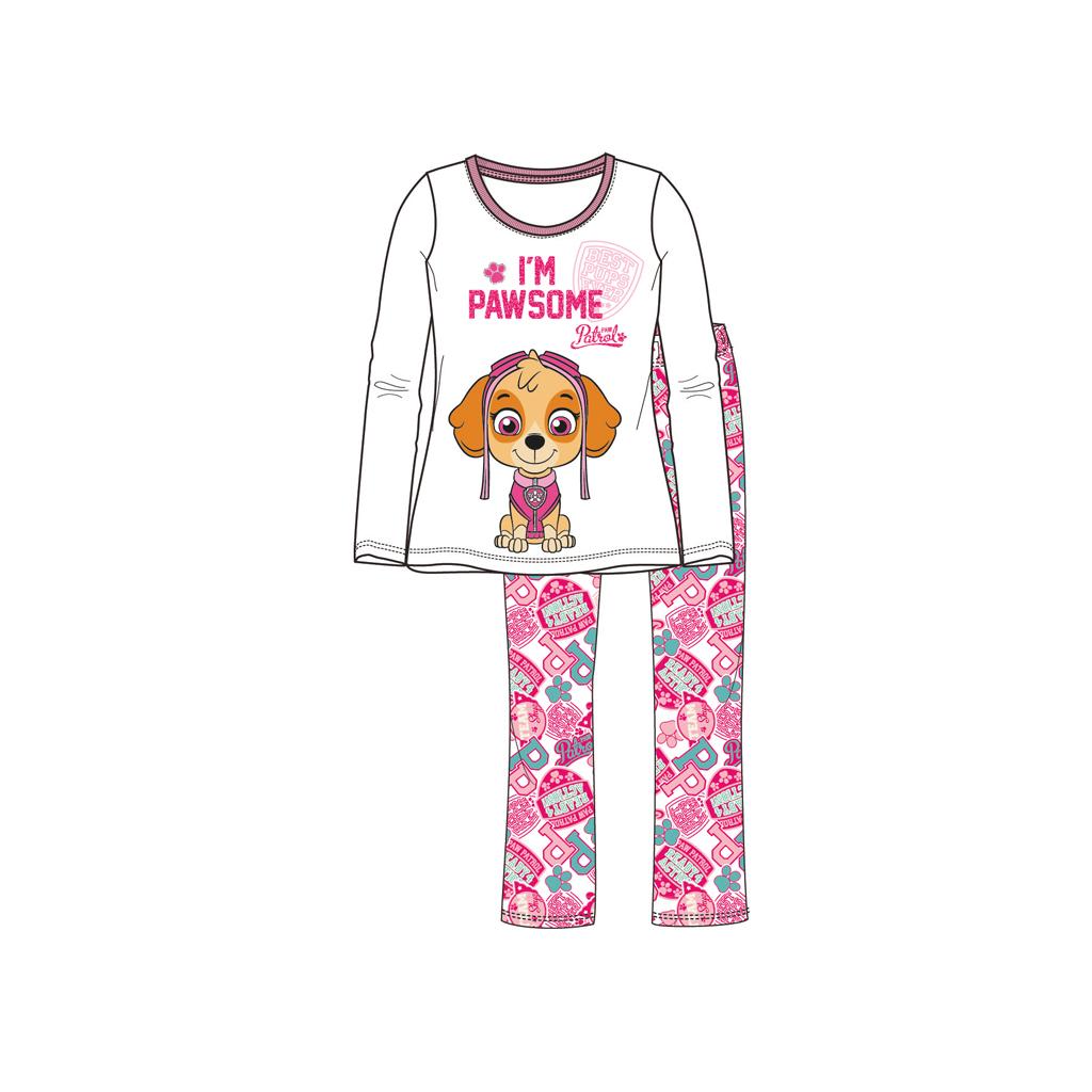 Afbeelding van Pyjama Paw Patrol Meisjes Wit 116
