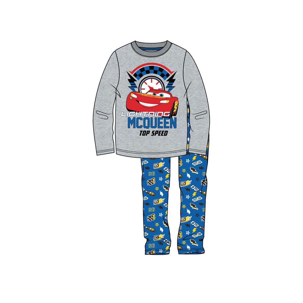 Afbeelding van Pyjama Cars Grijs Mel 110