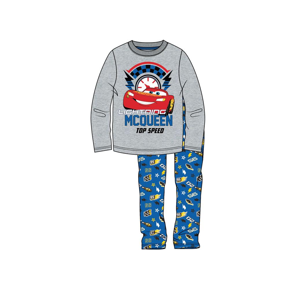 Afbeelding van Pyjama Cars Grijs Mel 128
