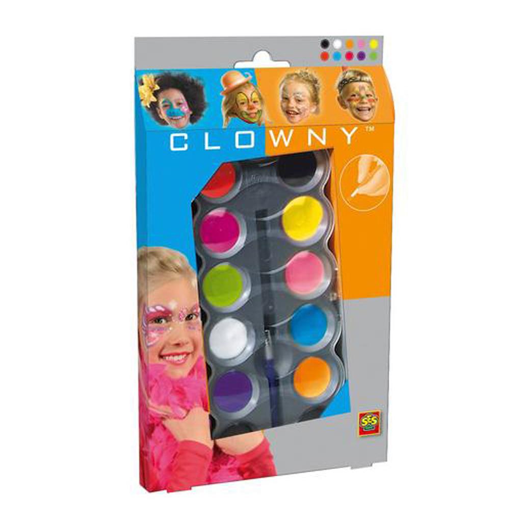 Afbeelding van SES Aquaschmink 10 Kleuren Trendy