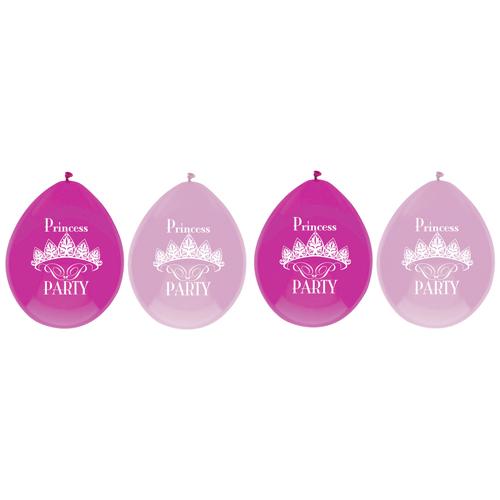 Afbeelding van Ballonnen Princess 6 Stuks