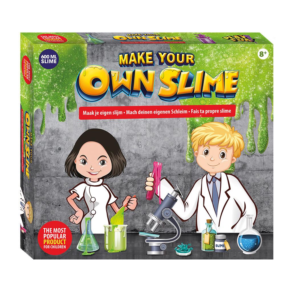 Afbeelding van Maak Je Eigen Slime Laboratorium 600 ML