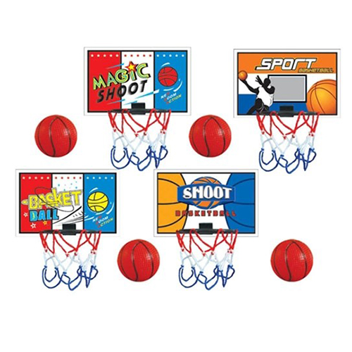 Afbeelding van Basketbal Mini 4 Assorti