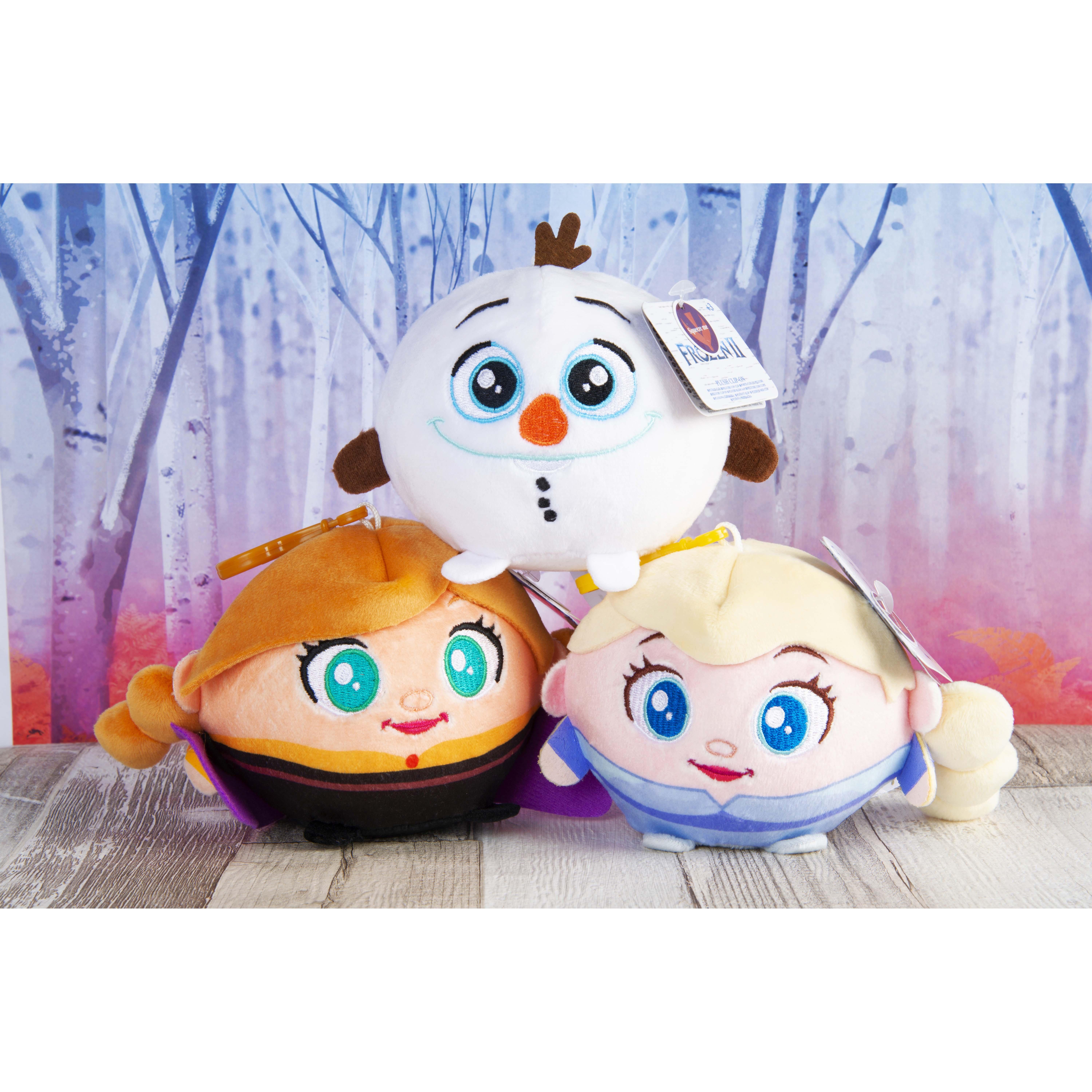 Afbeelding van Frozen 2 Squeezy Palz 9Cm Met Clip