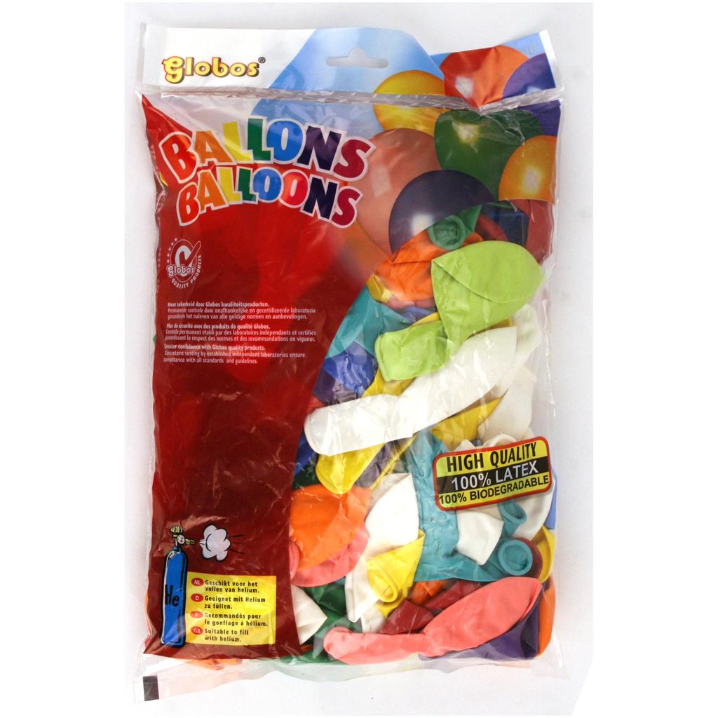 Afbeelding van Ballon Kleuren 100 Stuks 31 Cm Assorti