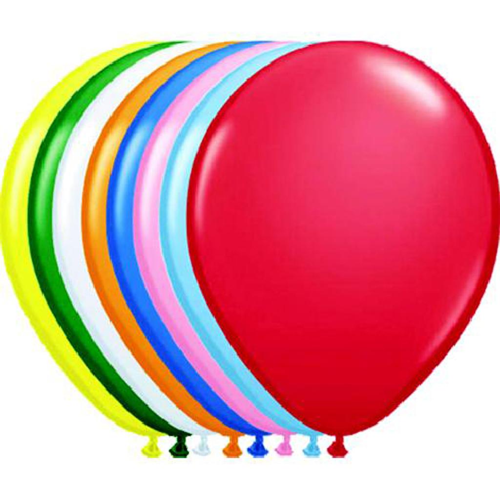 Afbeelding van Ballonnen 100 Stuks Assorti