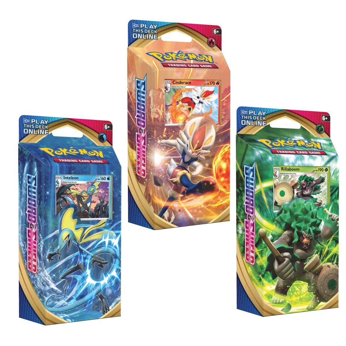 Afbeelding van Pokémon Sword & Shield Themadeck