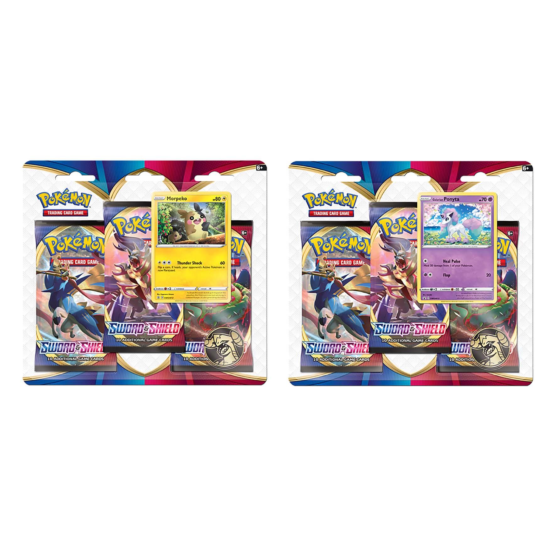 Afbeelding van Pokémon Sword & Shield 3Boosterblister