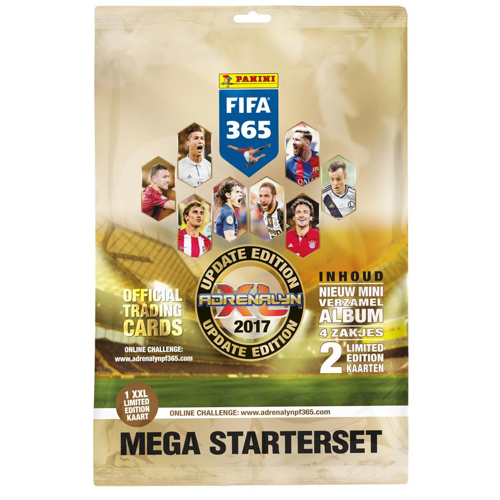 Afbeelding van Fifa 365 Adrenalyn XL Verzamelkaarten Starter Pack 2017