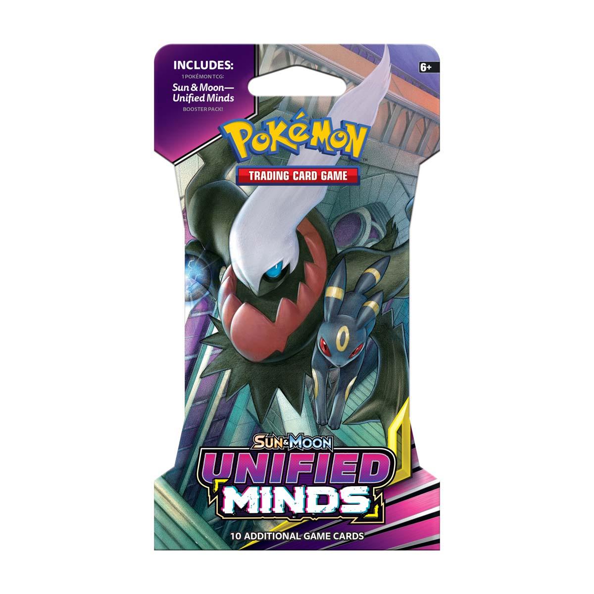 Afbeelding van Pokémon Sun & Moon U Minds Sleeved Booster