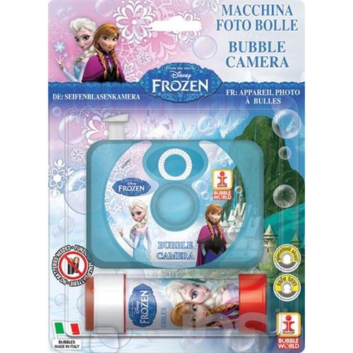 Afbeelding van Bellenblaas Frozen Camera